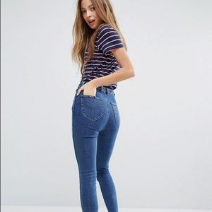 Rolla's  east coast high rise ankle skinny jeans